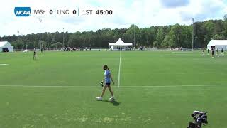 2020/21 NCAA Women's Soccer Championship Third Round. Washington vs North Carolina