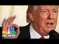 President Donald Trump's Addresses Mike Flynn, Russia, Fake News (Full Press Conference) | NBC News