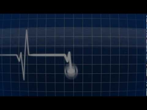 Heartbeat Flatline (heart monitor) - available for download in description