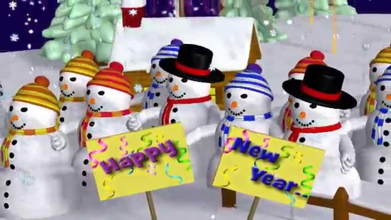 Gutes Neues Jahr 2018, Grüße zum Neujahr, Wünsche Silvester - YouTube