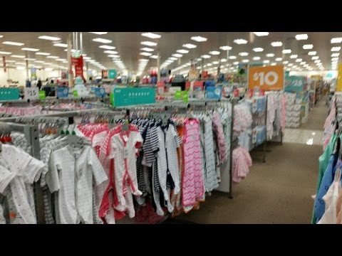 Christina'sReborns - Come baby clothes shopping with me at Target in Australia!