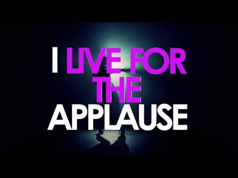[LYRIC VIDEO] LADY GAGA- APPLAUSE (HD)