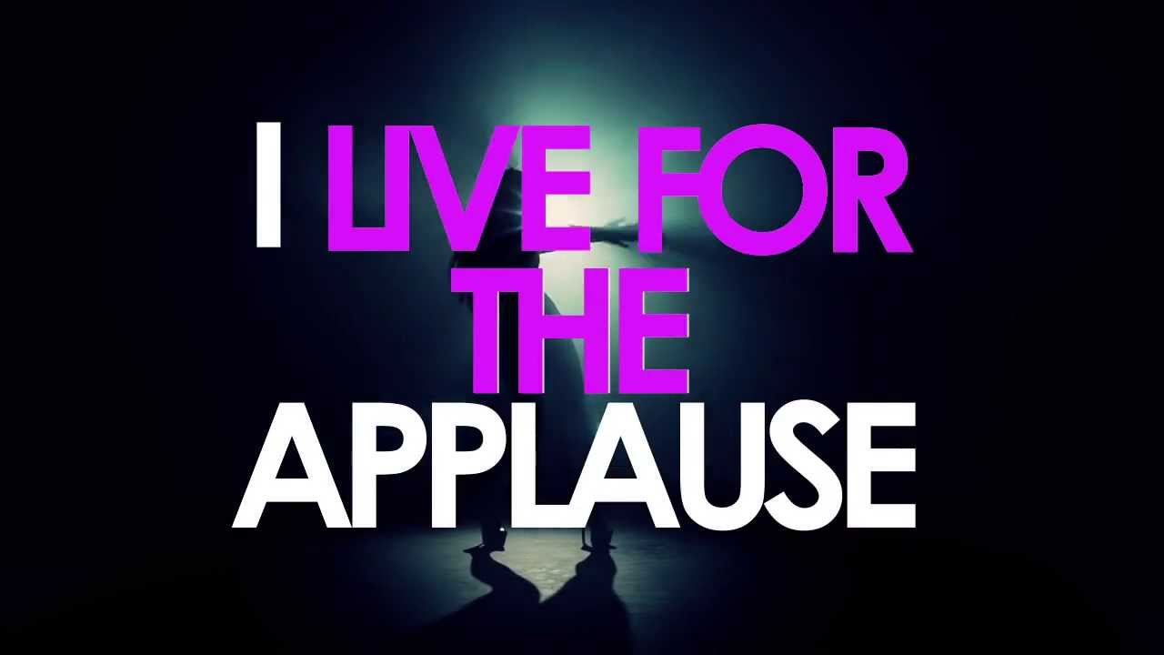 [LYRIC VIDEO] LADY GAGA- APPLAUSE (HD) - YouTube | 1280 x 720 jpeg 38kB