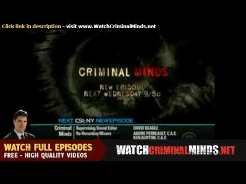 Criminal Minds Season 5 Episode 7 The Performer Preview