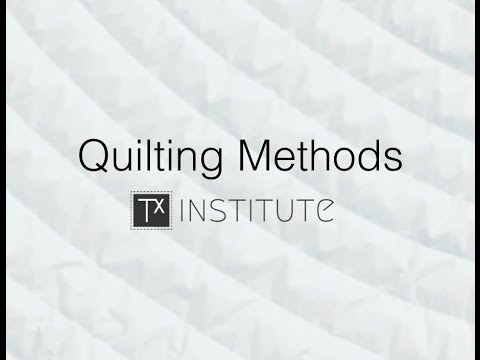 Quilting Methods