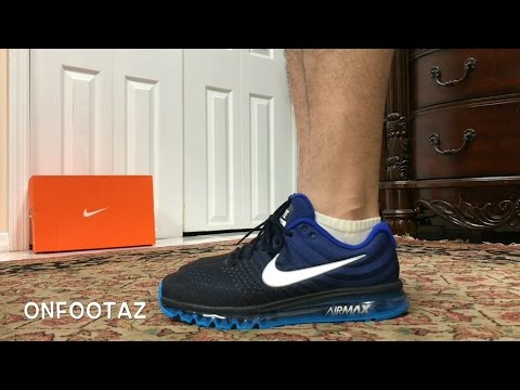 Nike Air Max 2017 Loyal Blue On Foot - YouTube e2a437166f82