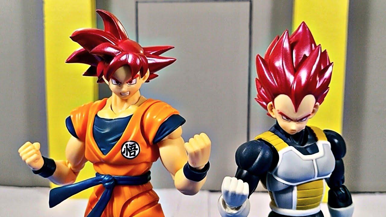 Demoniacal Fit Super Saiyan God Goku and Vegeta Custom Headsculpt Set Review