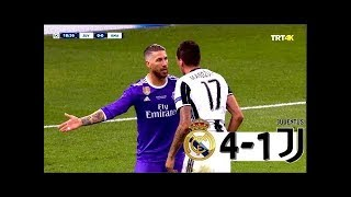 Real Madrid vs Juventus 4/1 | Crazy Arab Commentary 🔥 4k Quality.