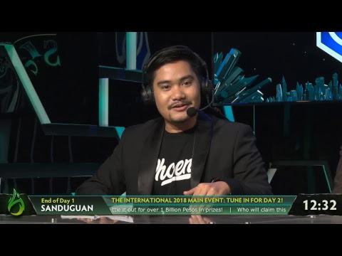 Sanduguan - The Official Filipino TI8 Broadcast #LAKADMATATAG