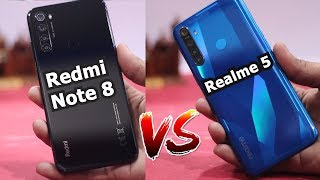 REALME 5 VS REDMI NOTE 8 | Detailed Comparison | WHICH ONE SHOULD YOU BUY ?