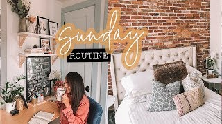 SUNDAY ROUTINE   Reset Your Life Each Week   Antonnette