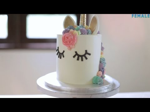 How To Decorate A Unicorn Cake YouTube