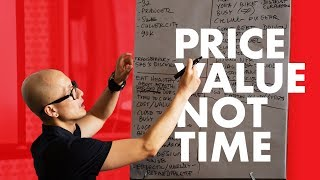 Pricing Design Work & Creativity - Stop Charging Hourly