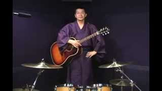 "Guiter Samurai Youku Hata 波田陽区 ""Justin Bieber"" ""David Beckham"" ..."