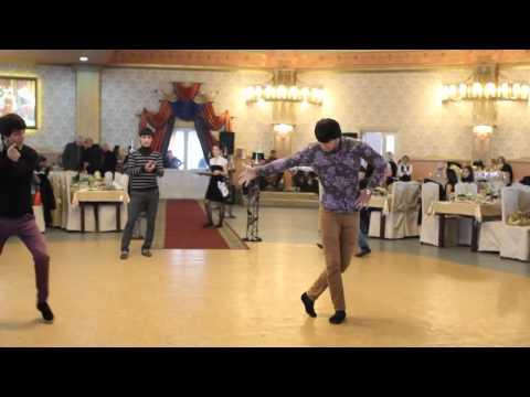 Армяне и Чеченцы Танцуют Вместе