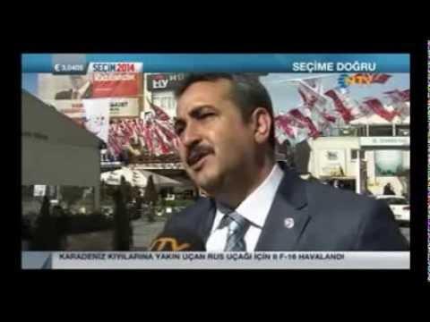 Saadet Partisi Eyüp Belediye Başkan Adayı Celal Çoban NTV'ye Seçim çalışmasını Değerlendirdi