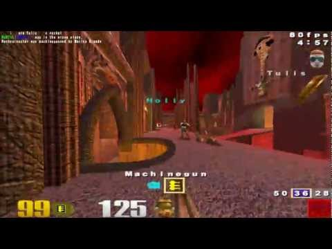 Quake 3 Arena - Multiplayer Gameplay