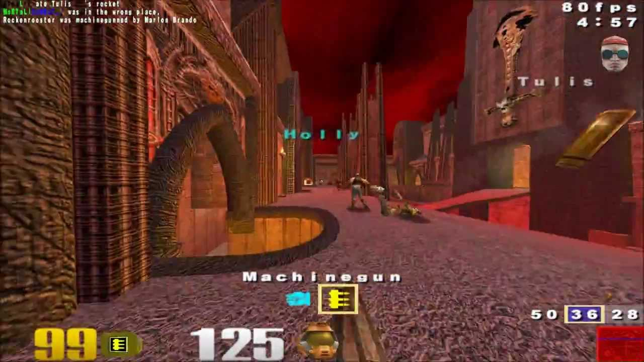 how to play quake 3 arena on lan