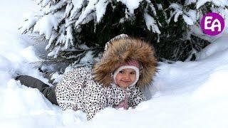 Bad Baby Вредные Детки 24 часа на Природе! Тюбинг и ледяная горка! Выходные с Вредными Детками