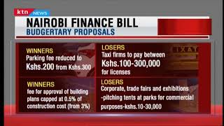 Nairobi Finance Bill seek to reduce parking fees for personal cars
