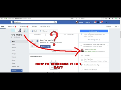 [FACEBOOK] How to increase facebook page likes in 1 day???