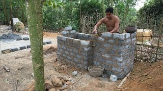 Primitive Technology:Tank from Brick-Part 2-Primitive life-wilderness thumbnail