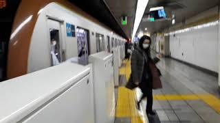 なんとなく電車:東京メトロ麹町駅:有楽町線和光市行き到着光景20210201_122838