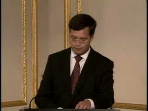 Prime Minister Jan Peter Balkenende keynote PART ONE of TWO ...