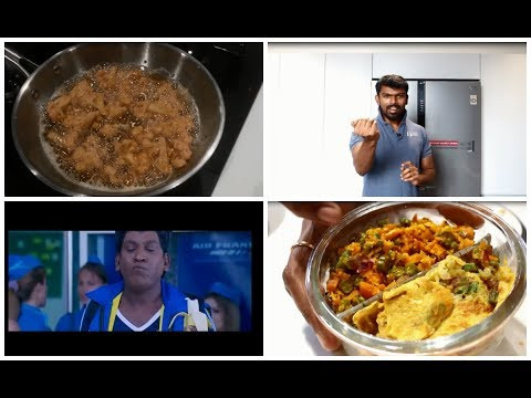 A day as a home maker vlog/Morning routine/Healthy aval breakfast/Madan gowri egg challenge