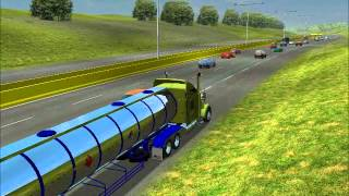 18 Wheels of Steel haulin nuevos sonidos de aire by oso mapa de Quinterowmv