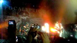 Apocalyptica Live in Argentina 14-01-12 - End of Me