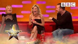 Sex boardgame has Ricky Gervais, Elizabeth Banks and Kylie in hysterics! | Graham Norton Show - BBC