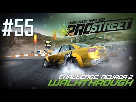 Need for Speed: ProStreet (PC) | Walkthrough Part #55 - Challenge: Nevada 2 (Bonus) [HD 60FPS]