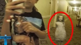 Top 10 Poltergeists Caught On Tape - Unbelievable Real Mysterious Scary Videos