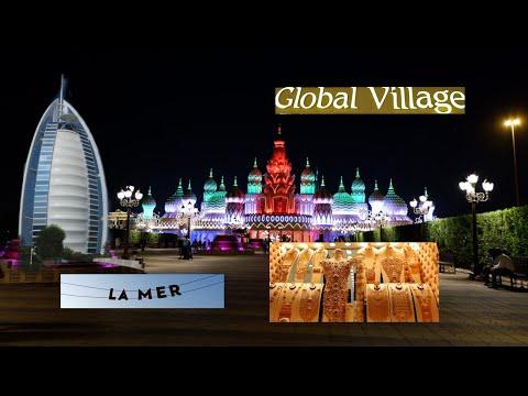 DUBAI EXPERIENCE 2019 GLOBAL VILLAGE, LA MER DUBAI, GOLD SOUQ, BURJ AL ARAB