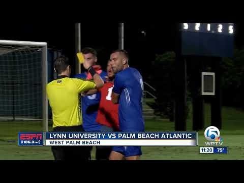 Lynn University Vs Palm Beach Atlantic Soccer