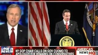 "Andrew Cuomo Exhibits Liberal ""Tolerance"" - ""NO"" to Catholics, Christians & Conservatives"