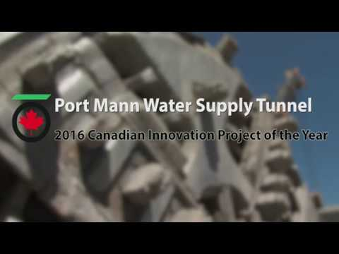 Port Mann Water Supply Tunnel: TAC 2016 Canadian Innovation Project of the Year