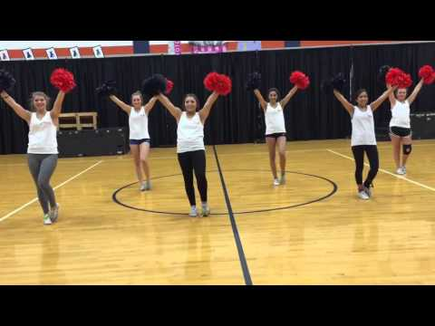 Seven Lakes Spartan Fight Song Tryout Video 2016