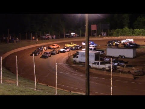 Winder Barrow Speedway Stock 4 Cylinders B's Feature Race 5/18/19