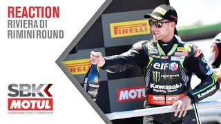 Exhausted Rea celebrates unbelievable Misano Double