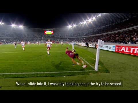 Soso Matiashvili on his unbelievable try against Canada