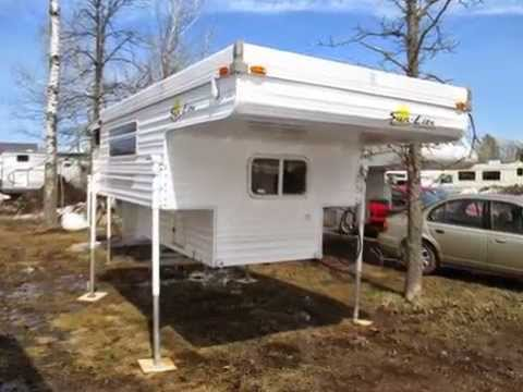 Used SunLite Truck Camper 218-496-5678 Kerrick, MN Popup Style