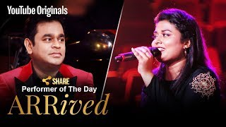 A. R. Rahman | Amrita Talukder | Performer Of The Day | #ARRivedSeries