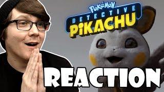DETECTIVE PIKACHU - Casting Call Sneak Peek Reaction!