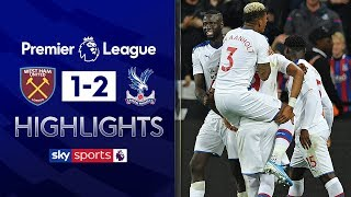 VAR awards Palace late winner at West Ham! | West Ham 1-2 Crystal Palace | Premier League Highlights
