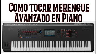 Como tocar merengue avanzado en piano (Tutorial)
