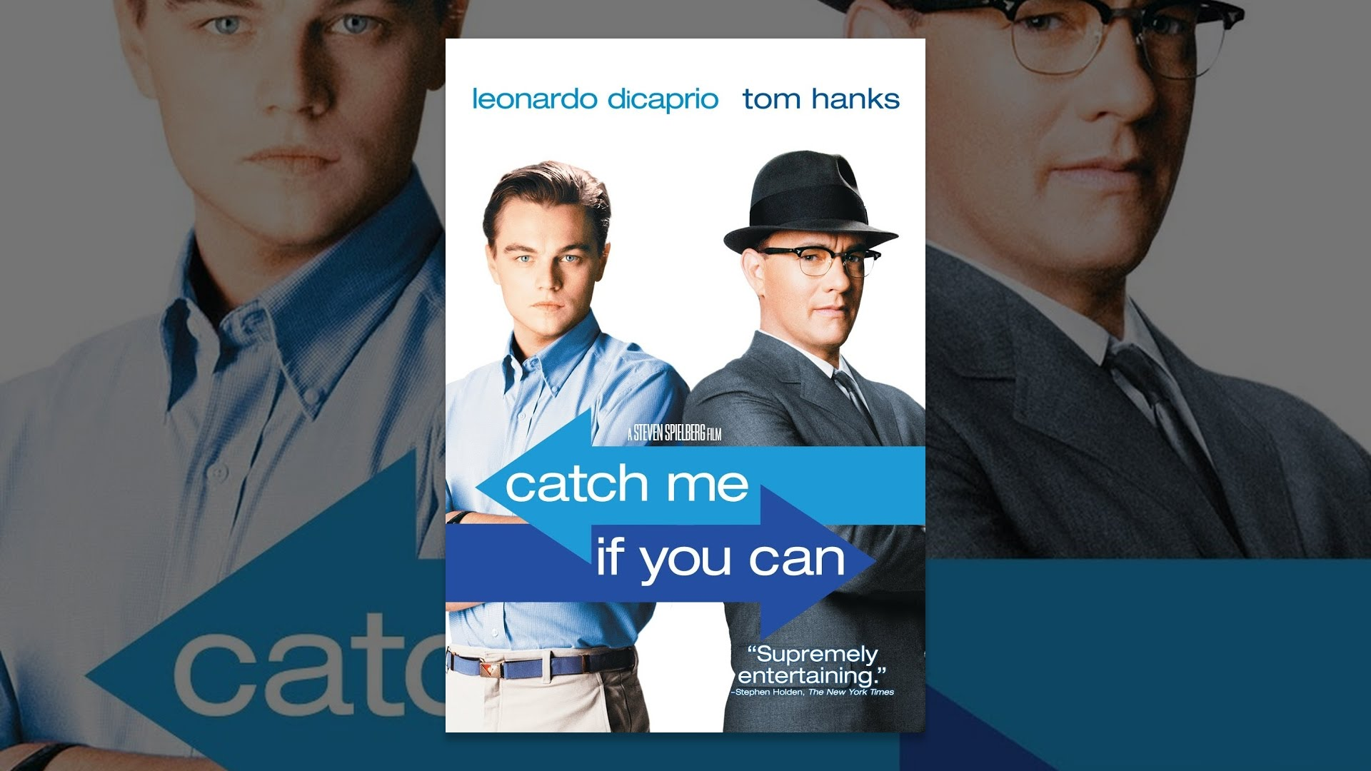 movie review catch me if you can 1-sentence-summary: catch me if you can is the story of how frank abagnale, one of the most famous con-artists in history, faked over eight identities, several professions, and cashed over $25 million of forged checks in the 1960s, until the police finally caught him at age 21.