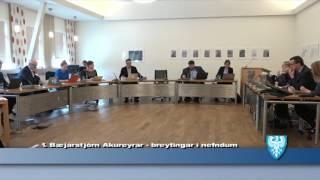 Fundur Bæjarstjórnar 4.apríl 2017