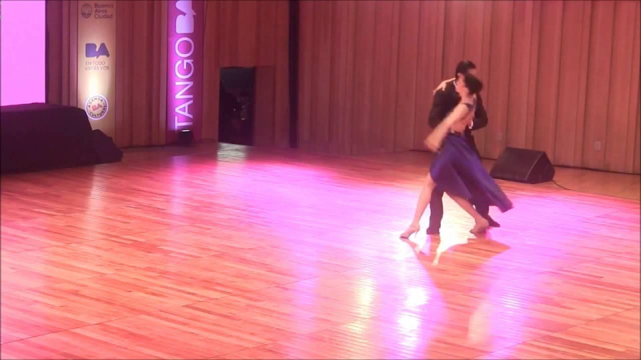 World championship tango dancers